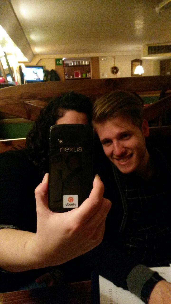 Friends try Nexus 4